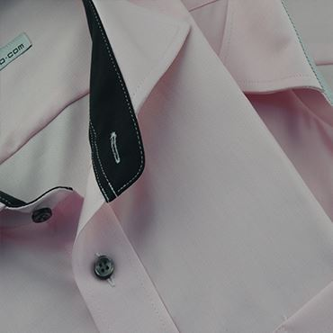 Non-iron, easy-carecotton men shirts
