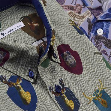 Hemden Allover Prints - Dierenprints