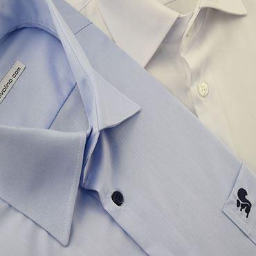 Organische stoffen en bio-katoen mannen hemden