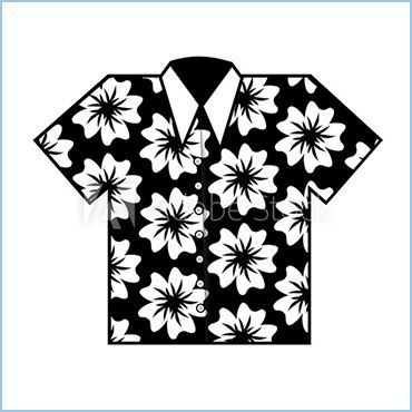 SHIRT POWER FLOWER - 60'S FLOWER POWER SHIRT