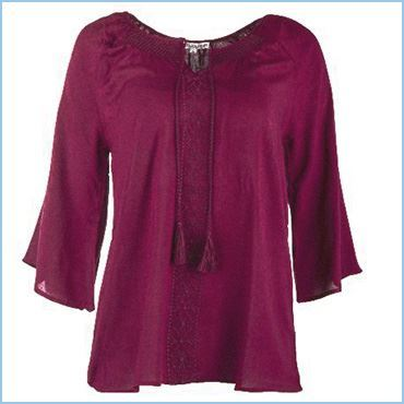 FLUID BLOUSE - FLOWY BLOUSE - FLOWING BLOUSE