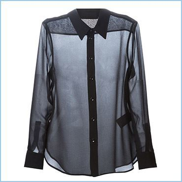 TRANSPARENT BLOUSE - SHEER BLOUSE – TRANSLUCENT BLOUSES