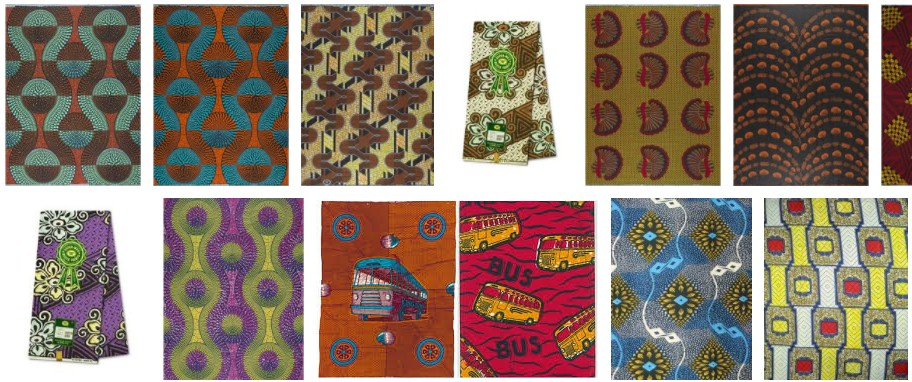 AFRIKAANSE PRINT - DUTCH WAX PRINTS