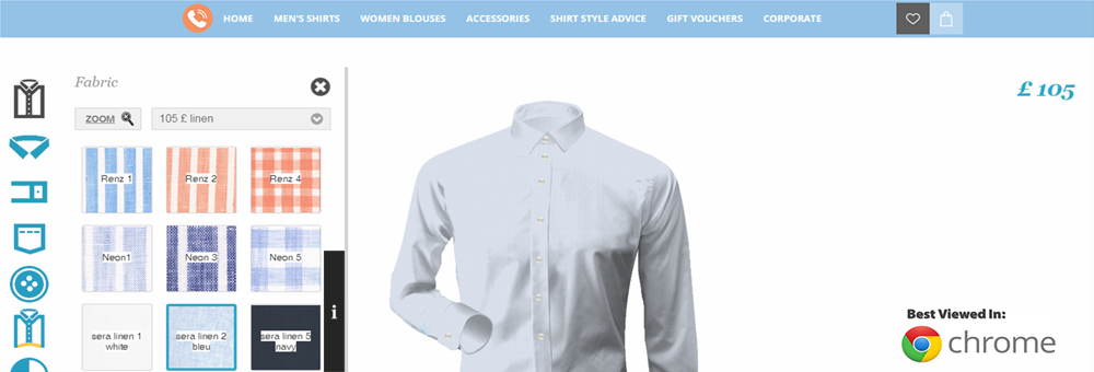 Made to Measure Shirts online | Made to Measure Shirt