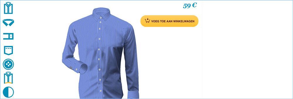 Maat Overhemd Man.Overhemd Op Maat Maatoverhemd Online Overhemden Op Maat