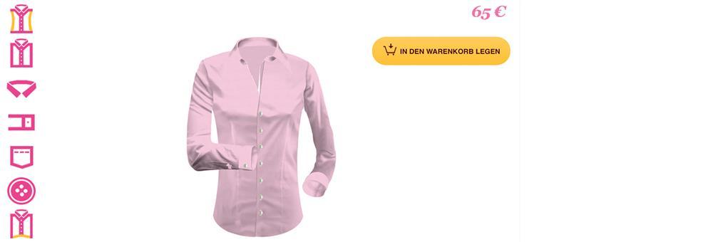 55954ed1fb9521 Gestalten Sie sich Ihre individuelle Bluse online mit unserem Blusen -Konfigurator