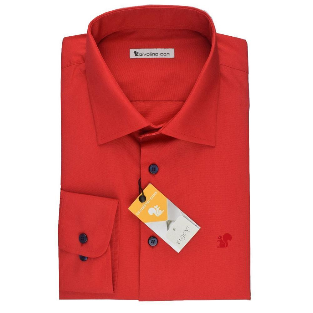 RED SHIRT - MENS RED SHIRT