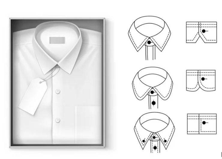 STYLE ADVICE COLLARS AND CUFFS  SHIRTS AND BLOUSES