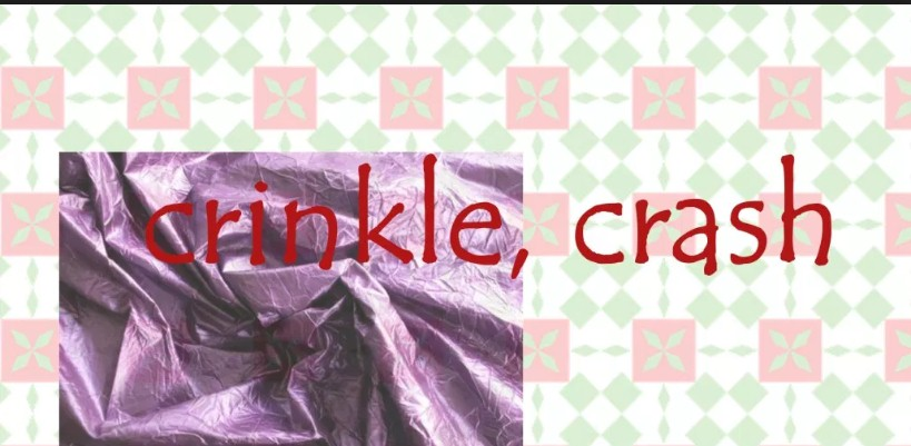 crinkle crash stof