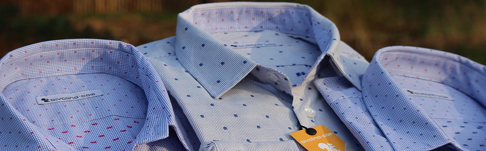 Jacquard mens shirts