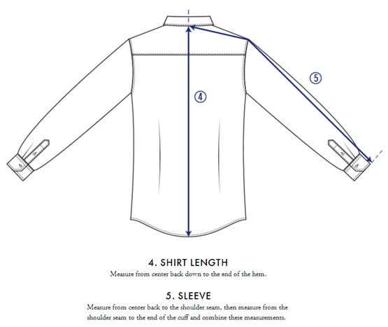 shirts extra long sleeves
