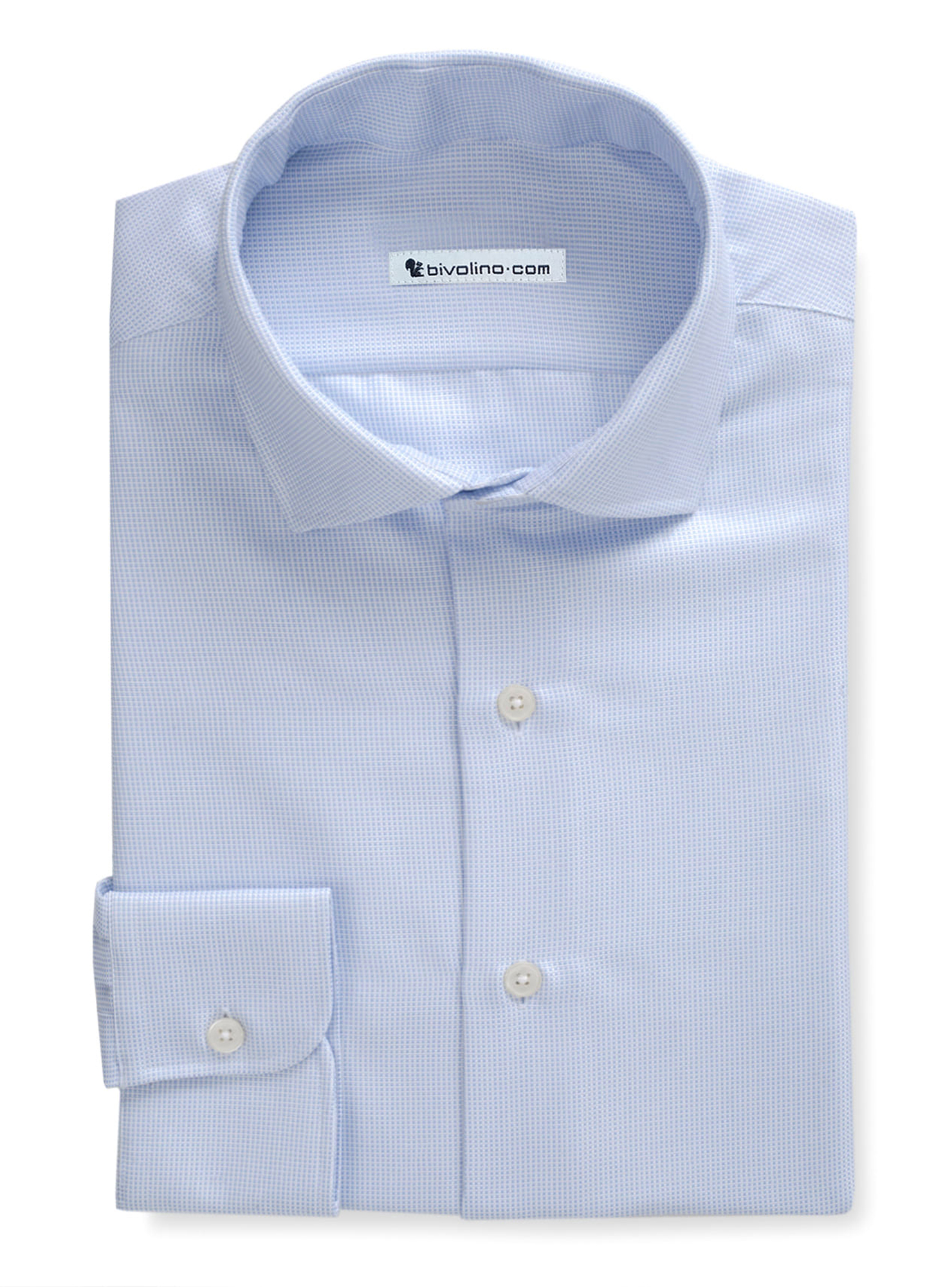 DESELLO - Blue Oxford shirt  - OFFERD 1