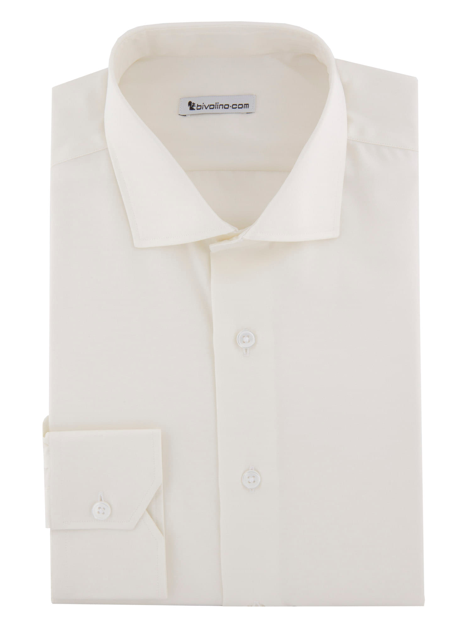 Vallina - Shirt twill yellow-ivory non-iron - Opal 3