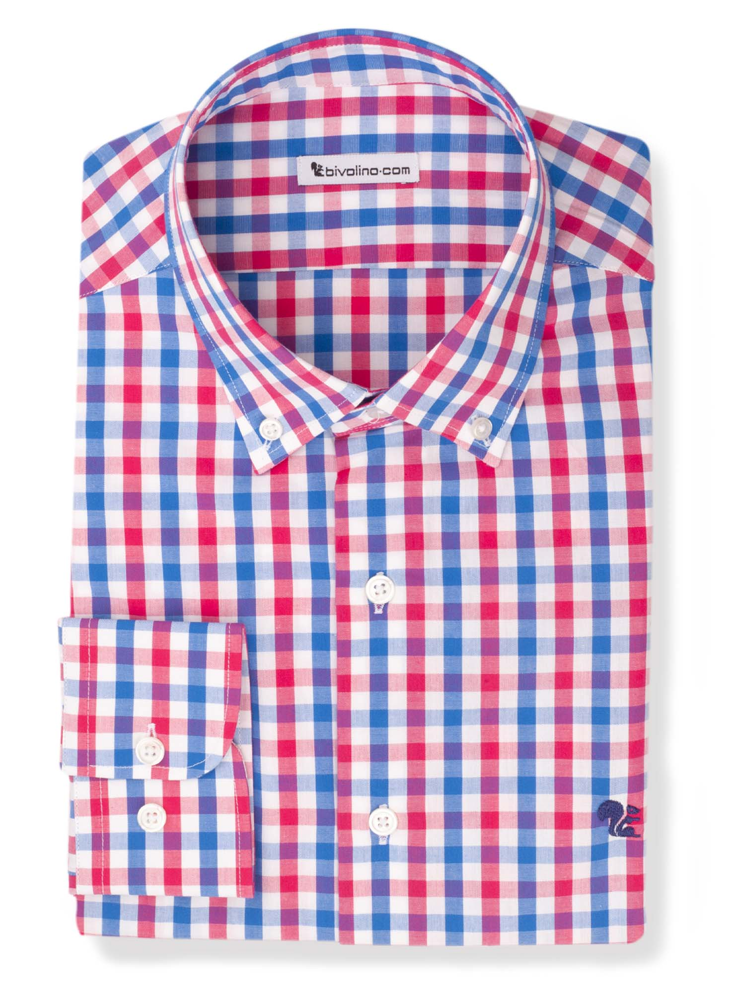 KAMIKILLI - Poplin red gingham check shirt - Kamik 5