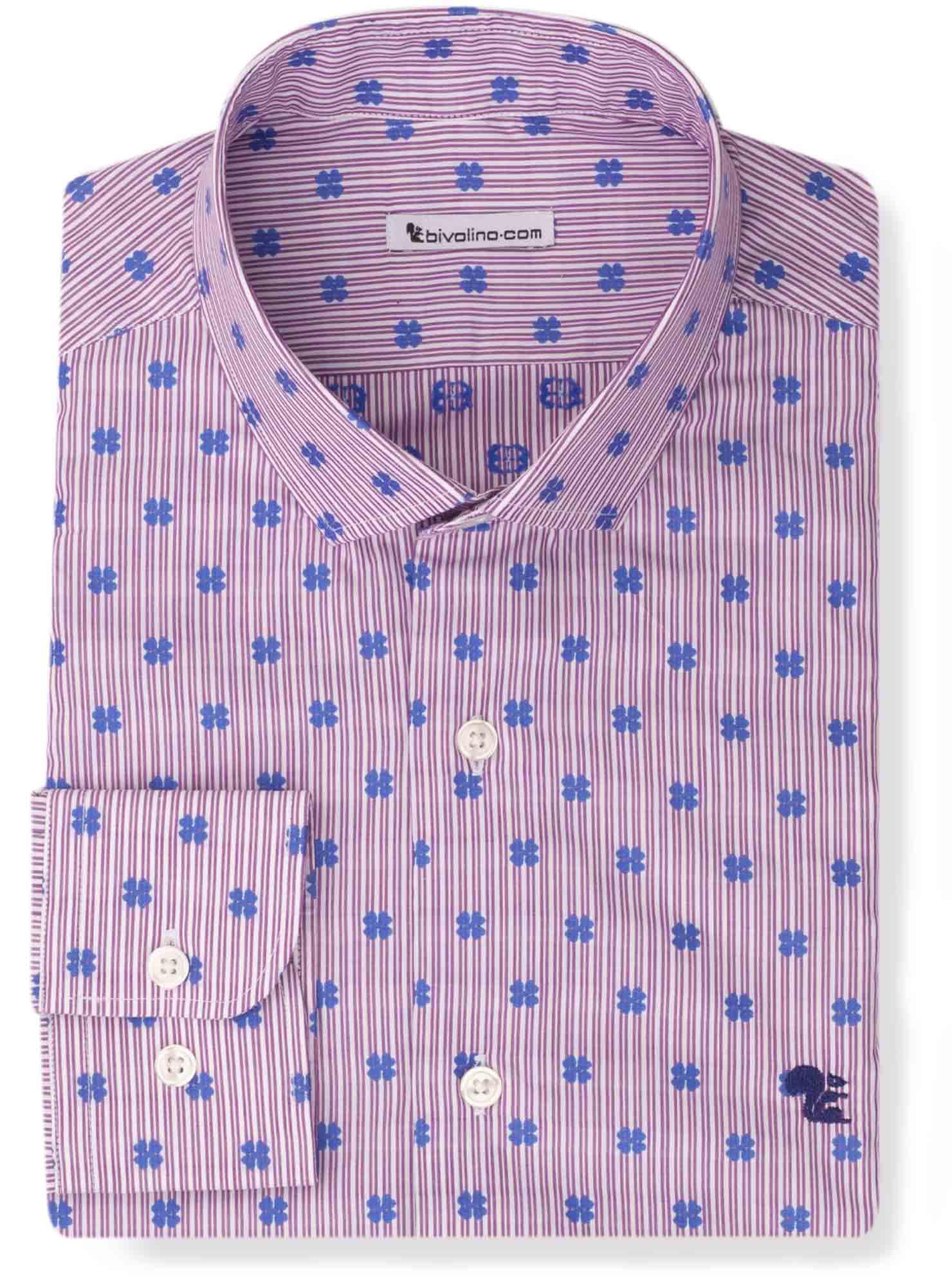 AMPIONINI - dobby jacquard shirt - Ampio 3