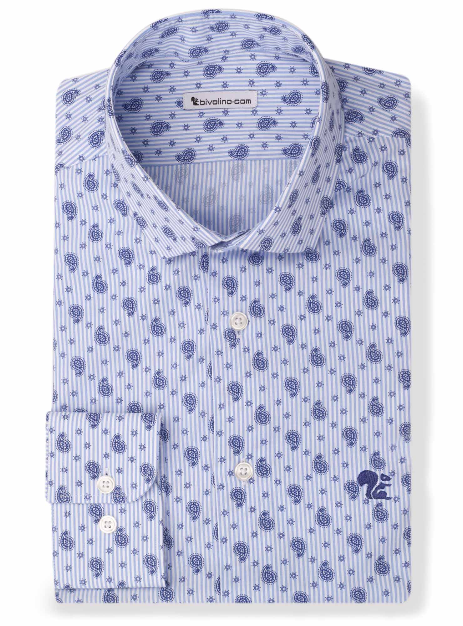 ROSINI - Paisley-print overhemd  - Rosin 2
