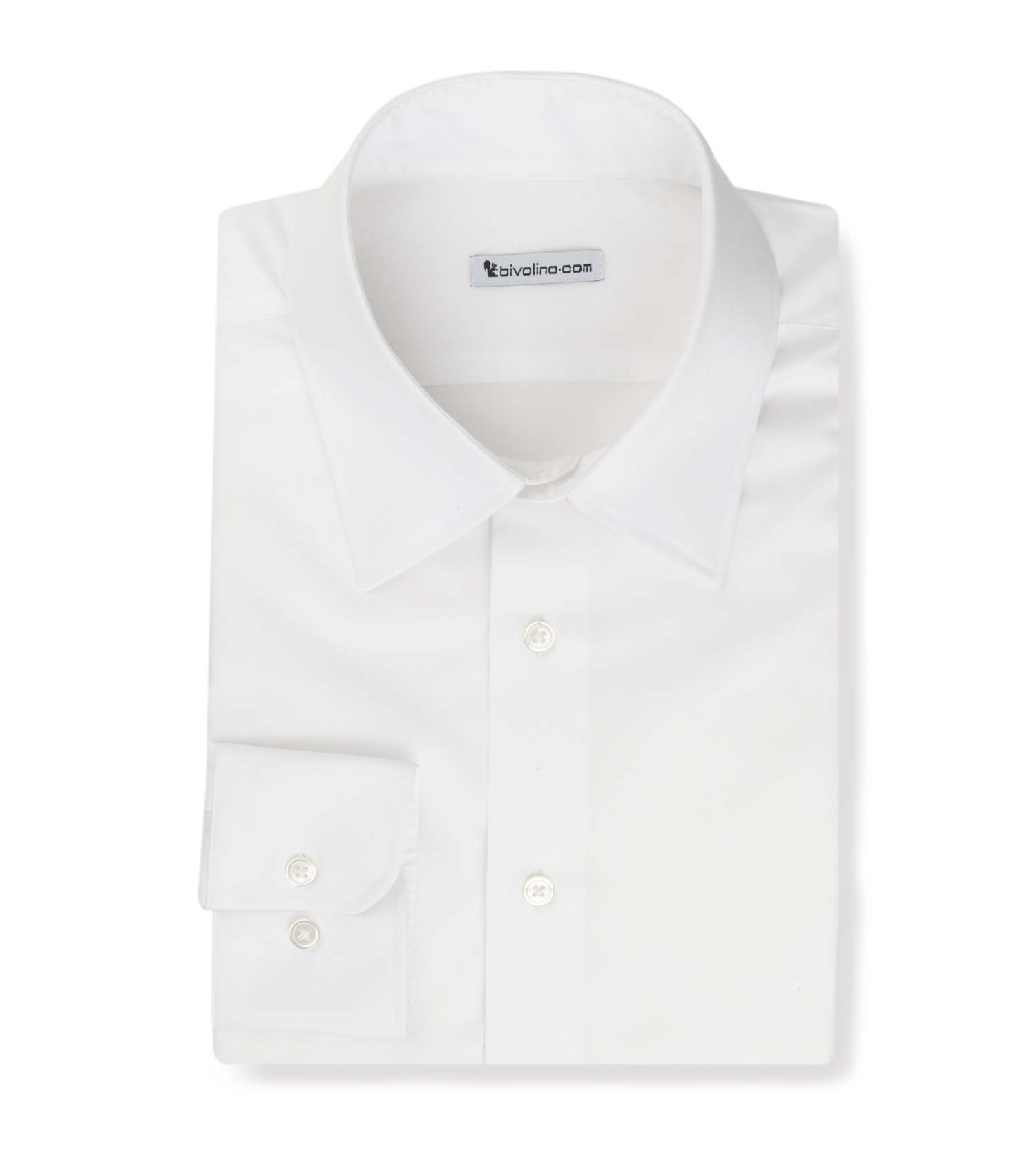 GABRIELAZI - White non-iron men shirt - Opal 1