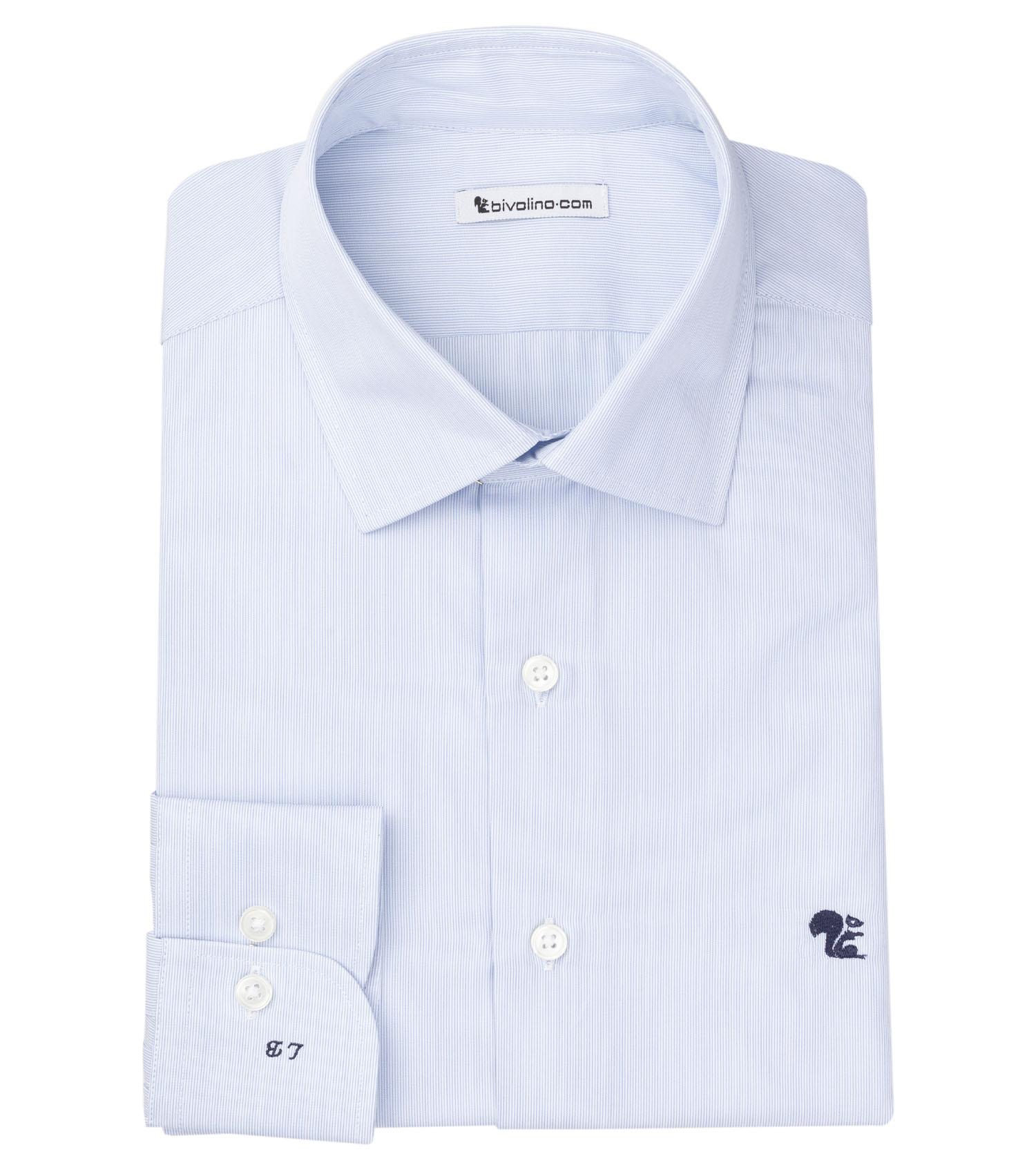 REGGICALABRIA - Männerhemd Baumwolle  Milleraie- DORCA 5