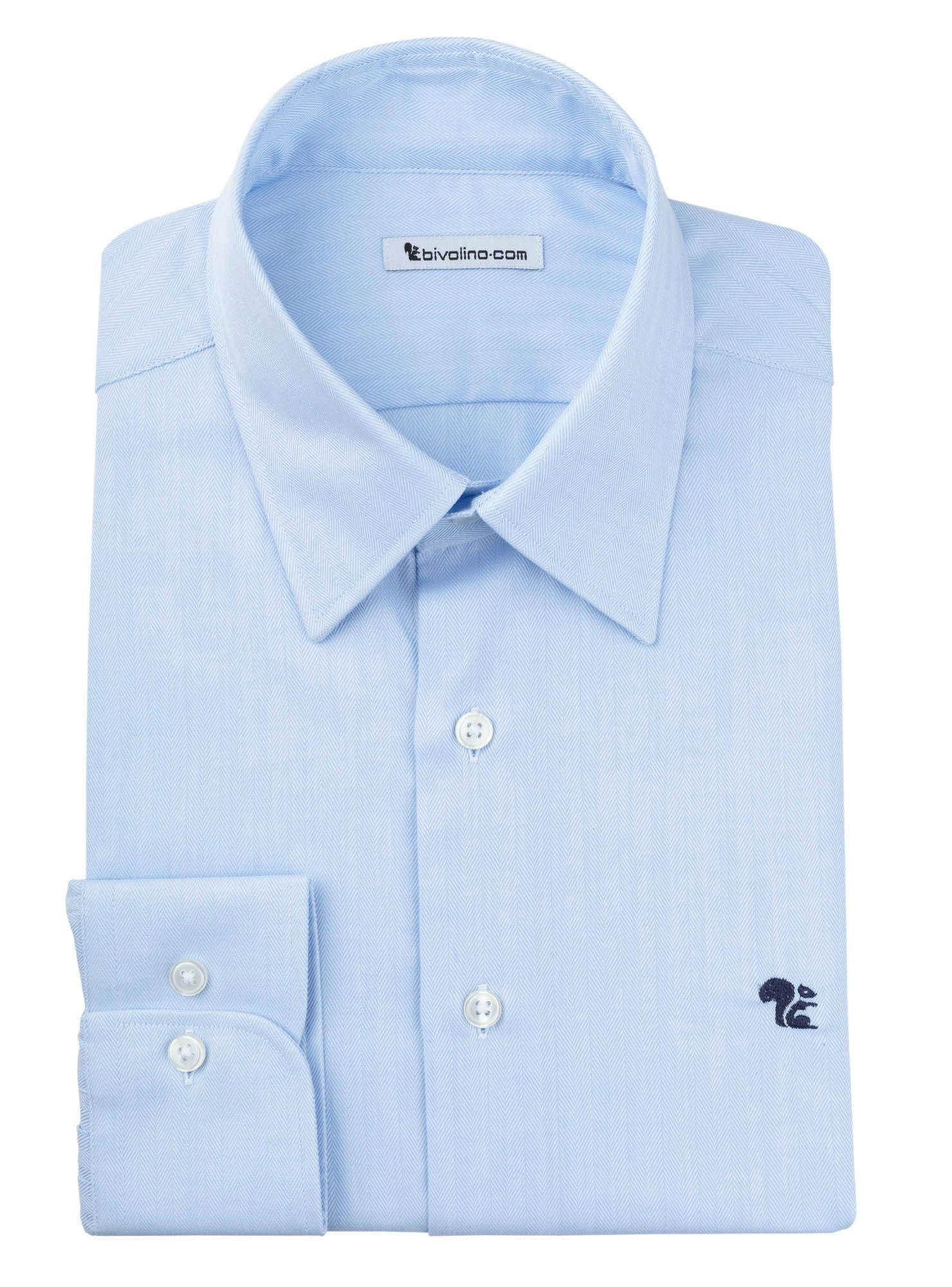 NOVARA - Visgraat overhemd  - Calvo 2 Malvern