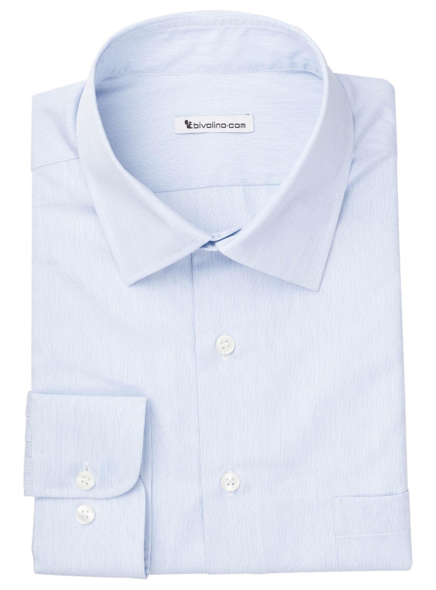 VERGIANO  - Men's shrit cotton milleraye - DORCA 5