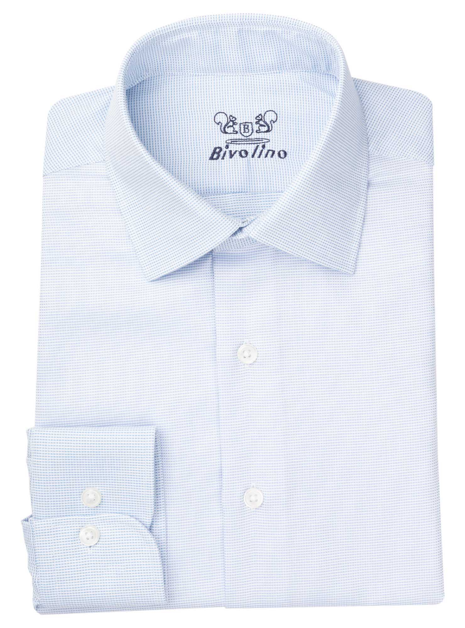 MESSINA - Men's shrt cotton oxford - ROYAL PANAMA 1