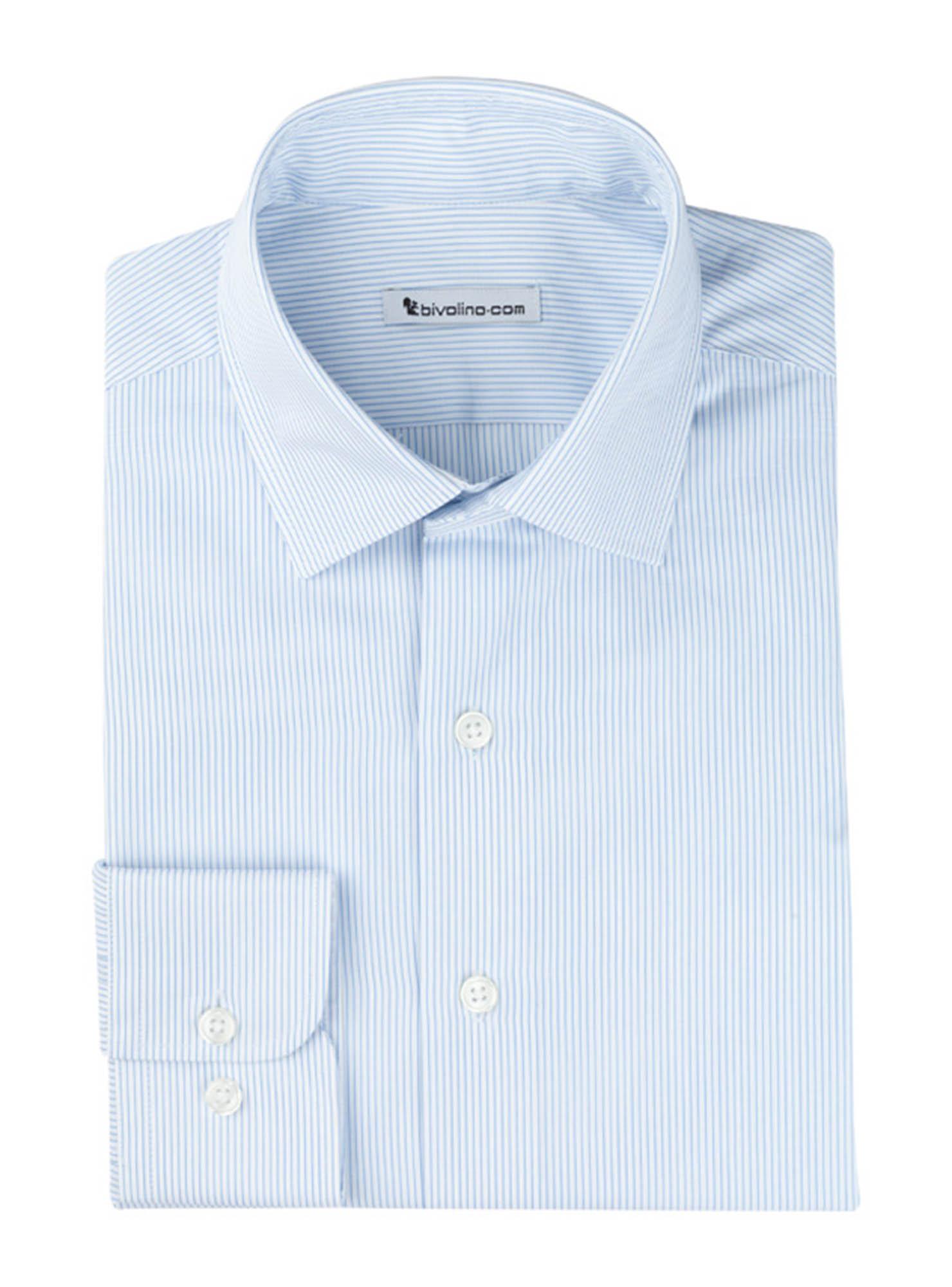 SEZZE - chemise homme coton double retors égyptien Thomas Mason - ORIS 1