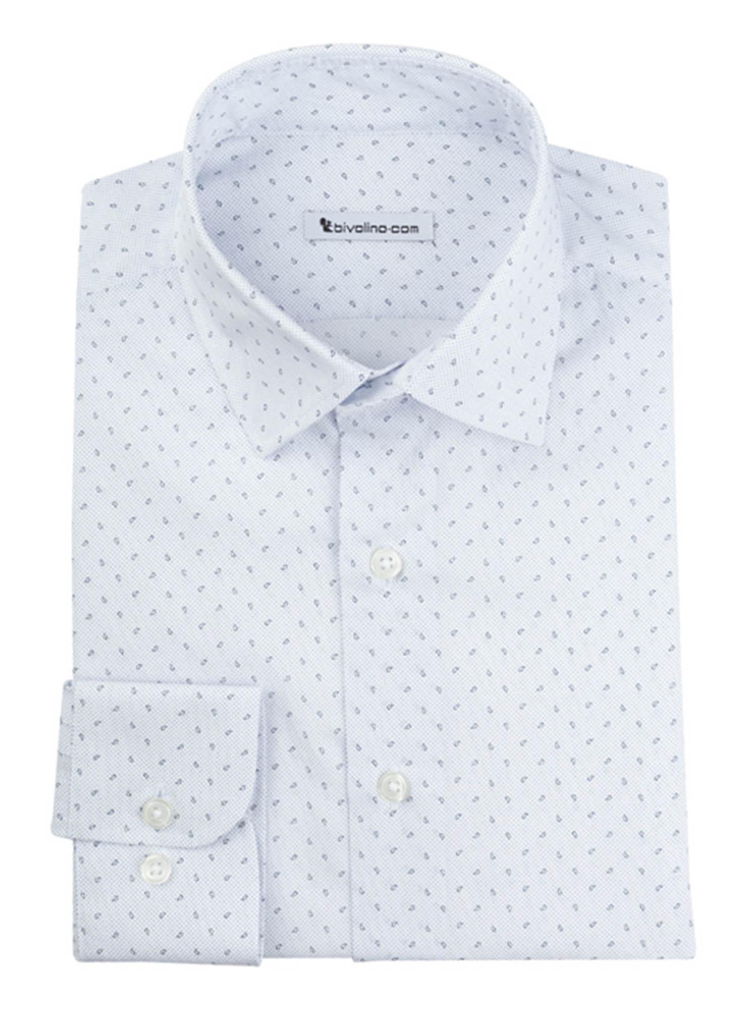 ARTENA - chemise homme coton Micro-Print Cachemire - MICRO 9