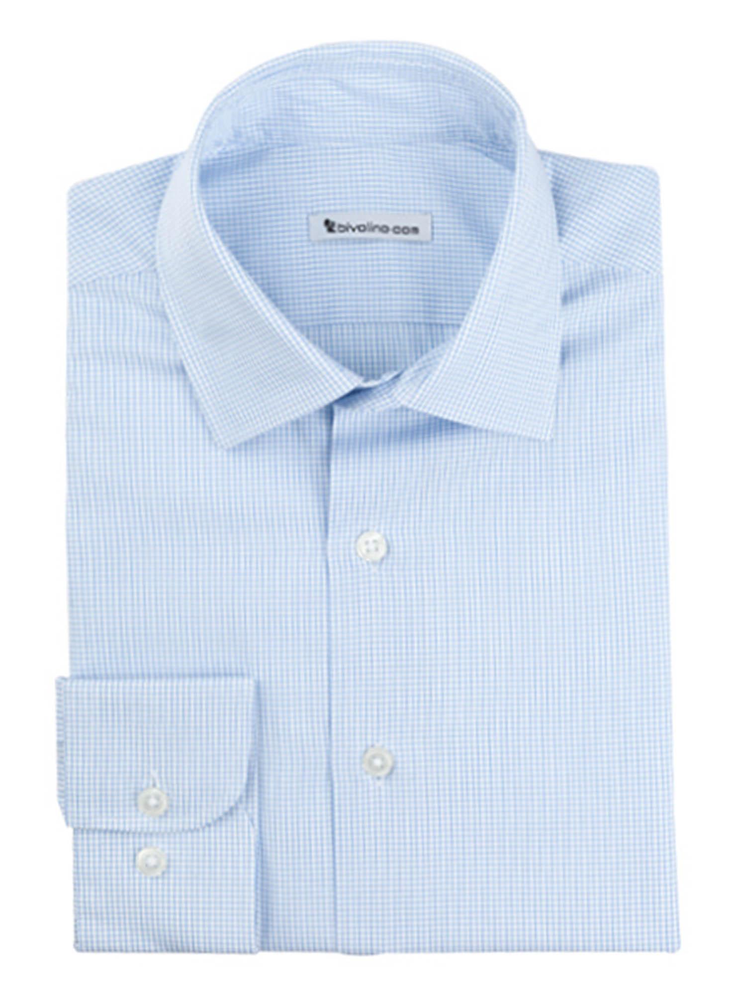 LATINA - chemise homme coton double retors égyptien Thomas Mason - ORIS 3