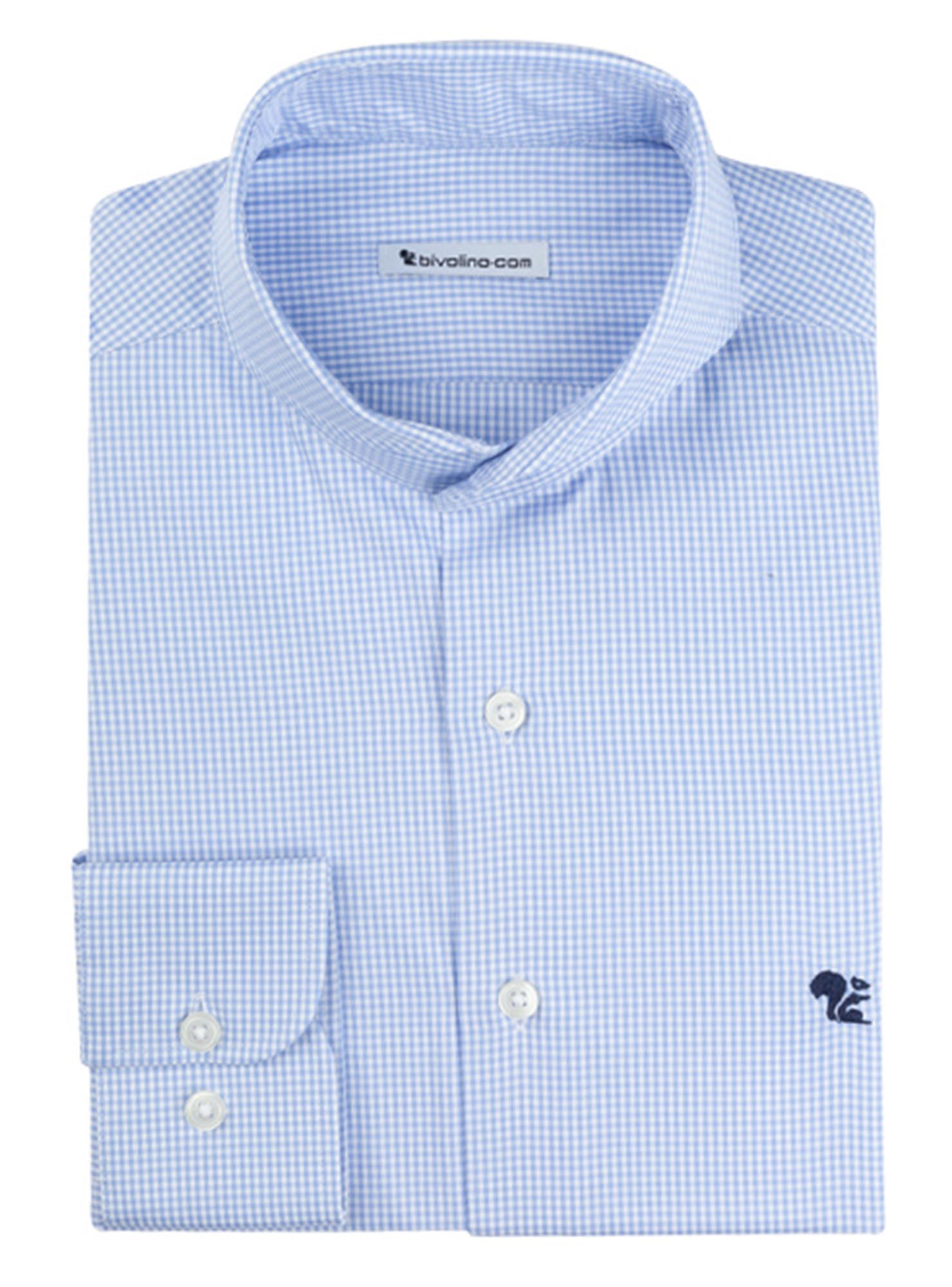 PICO - men's shirt cotton two-fold 2ply Egyptian -  Thomas Mason GIZA 87 - KEM 1