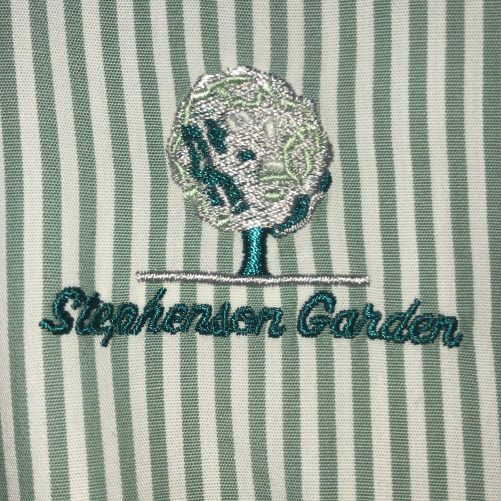 STEPHENSON GARDEN - CORPORATE  BLOUSE WITH LOGO