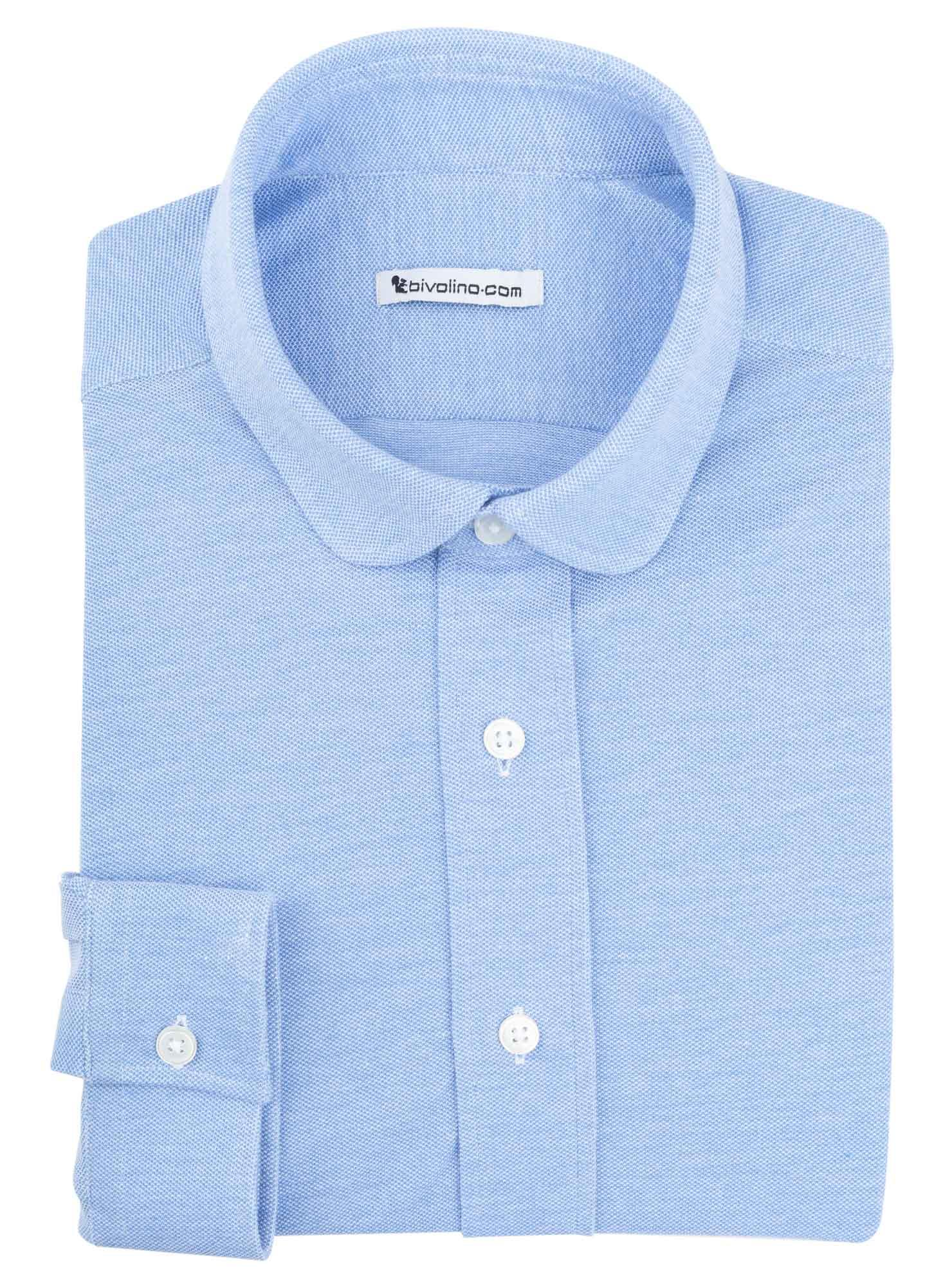 JERSILOINI - 100% coton piqué Jersey blanc  JERSILI 2