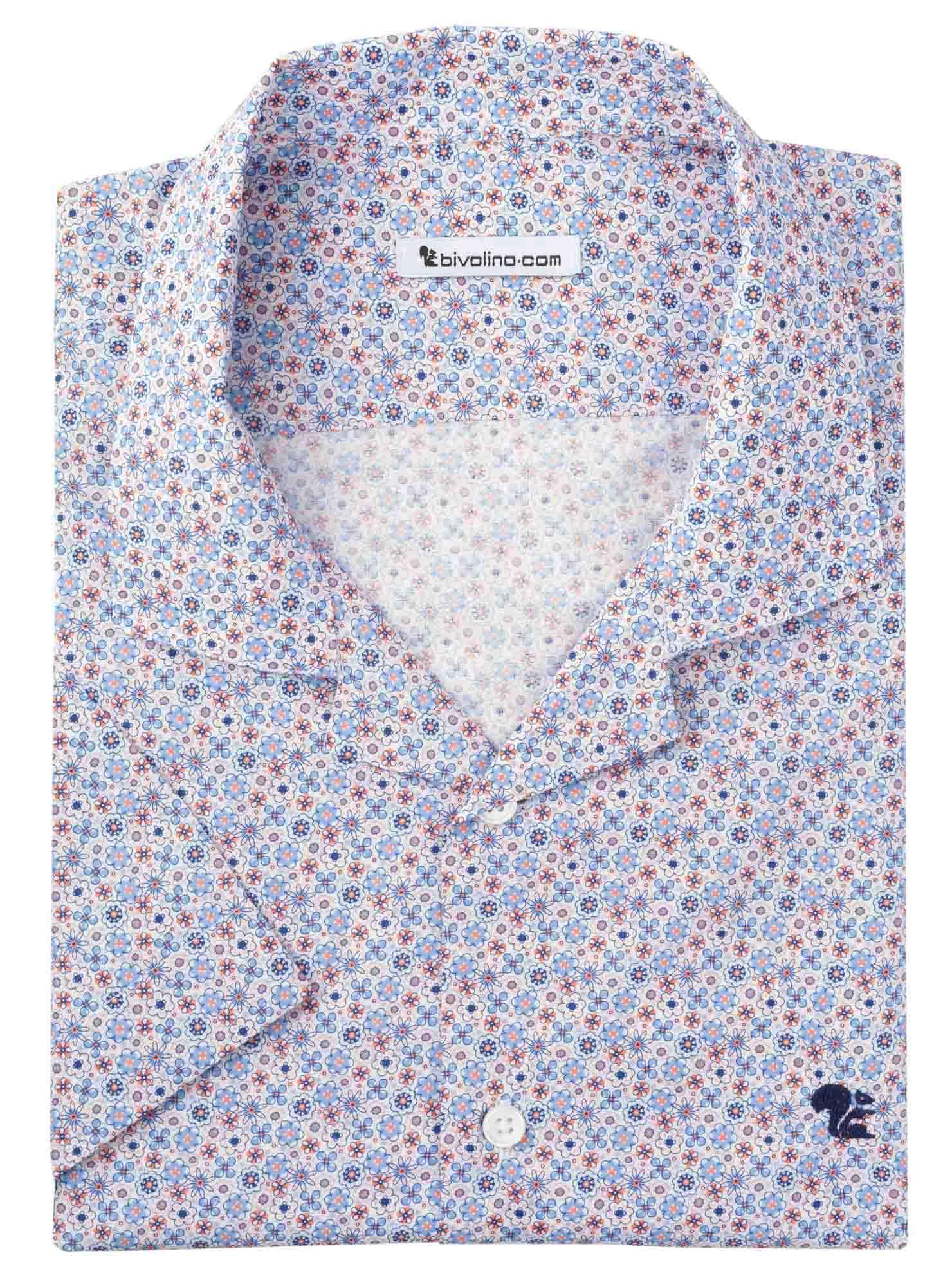 AWINI - cotton hawaiian shirt - Manio 4