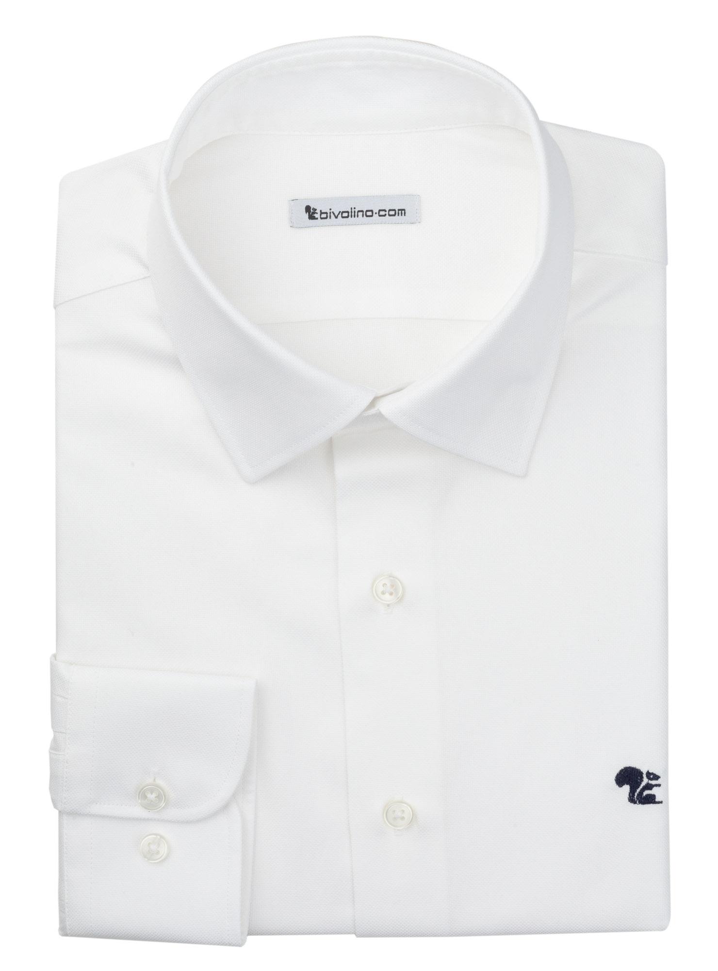 ALESSANDRIA - Royal Oxford weiss Herren Hemd - LABA 5 CLIFTON
