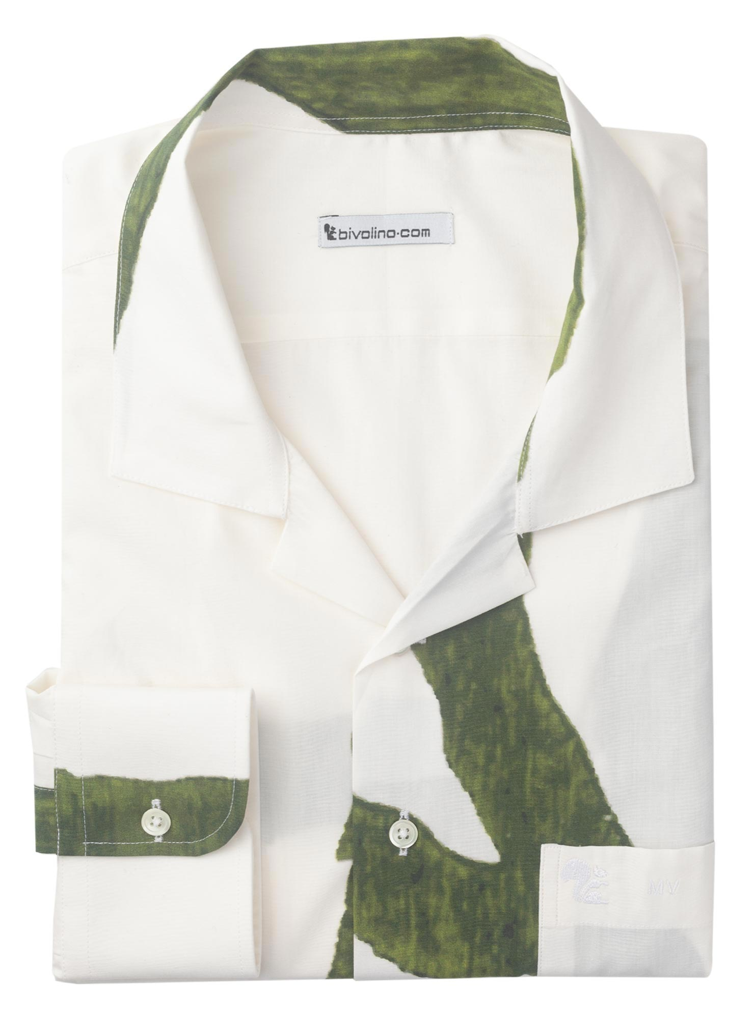 CHIETI - chemise homme ARTY-PRINT - CEES ANDRIESSEN 3