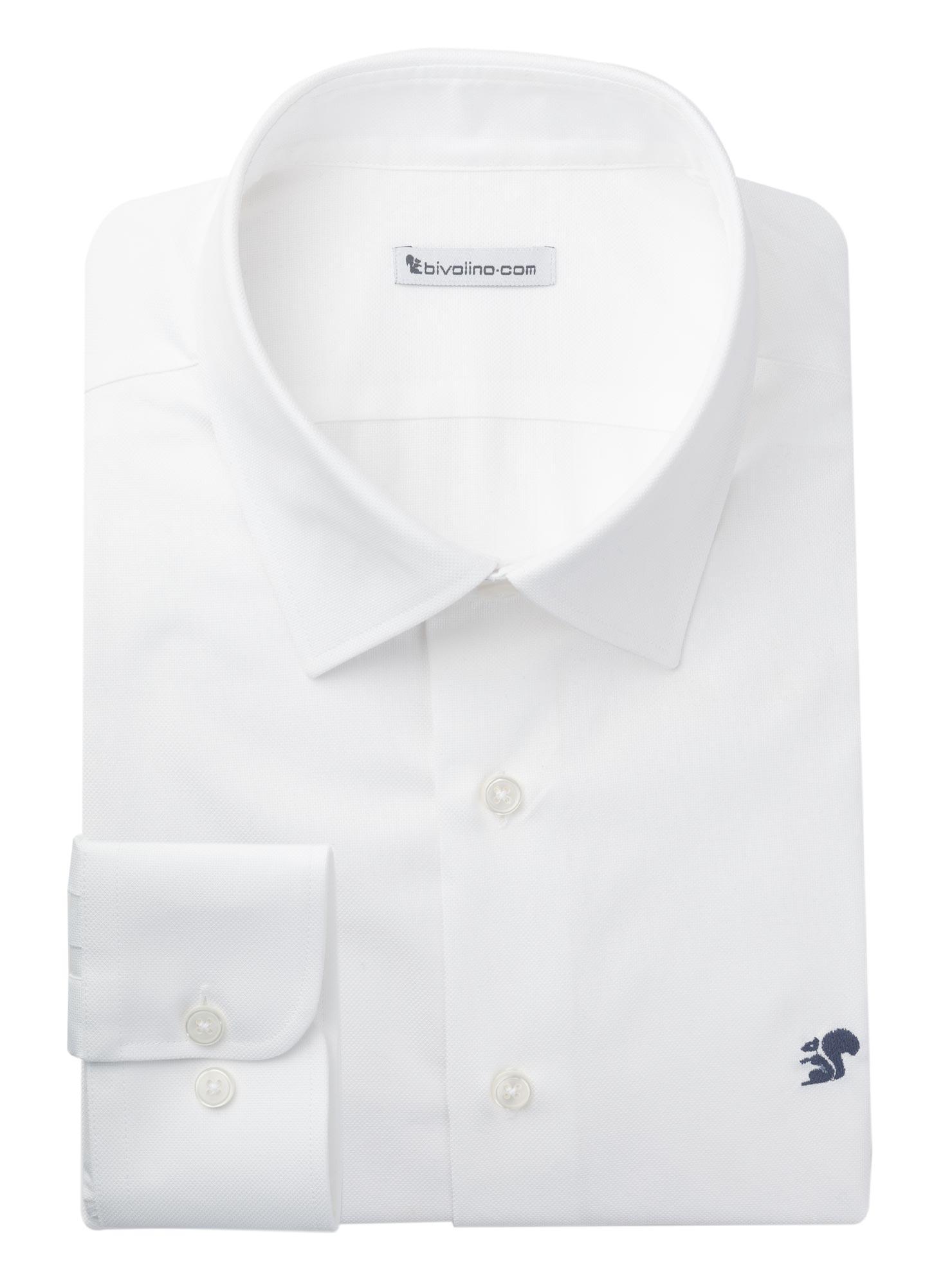 COMO - Royal Oxford weiss Herren Hemd - LABA 5 CLIFTON